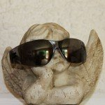 Engel mit cooler Sonnenbrille