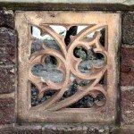 gotisches Mauer-Ornament auf der Wartburg